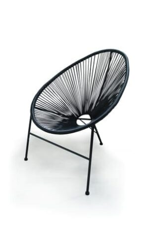 Asimex Living - Egg Chair Black