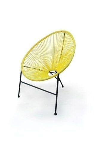 Asimex Living - Egg Chair Yellow